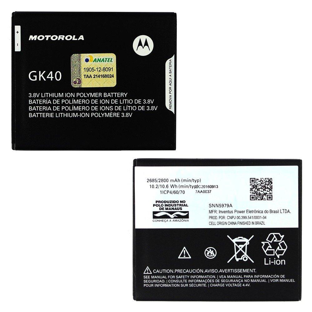 Bateria Moto G4 Play (XT1600/XT1603)